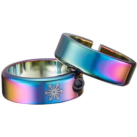 Supacaz Star Ringz anodised colourful